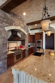 stone tile kitchen countertops. Large Size Of Tuscan Kitchen Creame Granite Countertop Antique Hanging Pendant Light Stone Tile Wall Marvelous Countertops