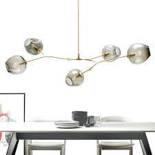 unique chandeliers lighting modern globe glass bubble for tree branch chandelier lindsey adelman diy tre