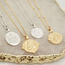 the muru jewellery dess coin necklace collection