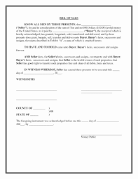 bill of sale form for auto example of bill of sale for car beautiful free printable generic