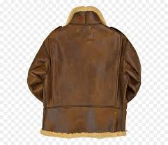 leather jacket shearling sheep jacket leather png