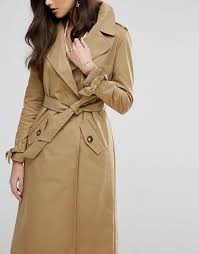 river island river island belted trench coat women camel stone