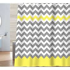 teal chevron shower curtains. Sunlit Zigzag Yellow And Gray White Chevron Shower Curtain. Geometric Print Pattern Lines Contemporary Stripes Modern Design Prined Fabric Bathroom Teal Curtains