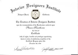 certificate of interior design.  Certificate Interior Design Certificate R56 On Wow Furniture Ideas With  And Of G