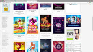 Create Free Party Flyers Online Free Photoshop Flyer Template Tutorial Ebe Films Youtube