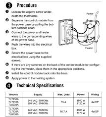honeywell manual electric baseboard thermostat wiring diagram to wiring connections for room thermostats