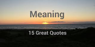 40 Great Quotes About Meaning Especially At Work Interesting Quotes With Meaning