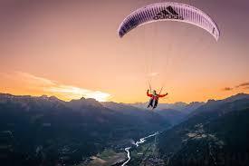 high flying at sunset jean baptiste chandelier