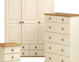 wardrobe White Pine Bedroom Furniture Awesome Painted Triple