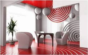 Marvelous Deco De Salon Gris Et Blanc Stock Id Es Design Int Rieur Maison Rouge