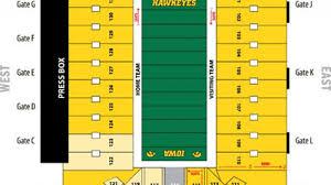 Kinnick Stadium Rows Seating Chart Kinnick Stadium Seating Chart Rows Kinnick Stadium Tickets