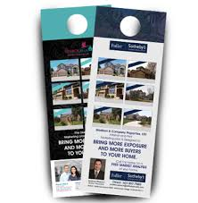 door hanger design real estate. 5000 Sotherby\u0027s Real Estate Door Hanger Design