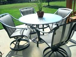 round patio table and chairs outdoor table set with umbrella large round patio table medium size