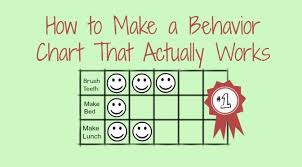 Behavior Charts For Oppositional Defiant Disorder How To Make A Behavior Chart That Actually Works Behaviour