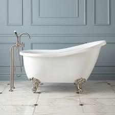 297370 l ultra acrylic clawfoot tub imperial feet