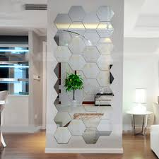 Wall Mural For Living Room Online Buy Wholesale Mirror Wall Murals From China Mirror Wall