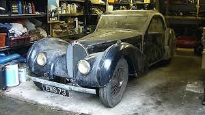 The type 57 sc atlantic coupé is not just one of the bugatti legends but perhaps the greatest. Barn Find Of The Decade 1937 Bugatti Type 57s Atalante Autoblog