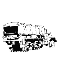 Small Picture An Army Semi Truck Coloring Page NetArt