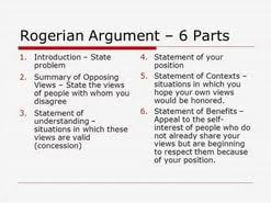 rogerian argument essay  rogerian argument essay outline