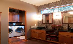 walk in closet design ideas bathroom laundry room combo