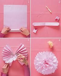 Make Tissue Paper Flower Balls Pom Poms And Luminarias Room Decor Diy Paper Diy Diy Party
