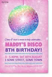 Childrens Disco Invitations 51 Best Kids Disco Party Images In 2019 Disco Party Party