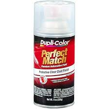 Duplicolor Perfect Match Color Chart Amazon Com Vht Bcl0125 Clear Exact Match Automotive Top