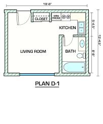 High Quality 1 Bedroom Efficiency Definition Studio Apartment Floor Plans Studio Plans  Junior 1 Bedroom Apartment Meaning .