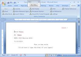 How To Set Up Mla Format On Microsoft Word Word Mla Barca Fontanacountryinn Com