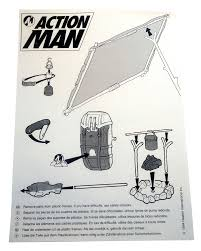 Survival Base Camp Action Man Dossier