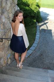 j crew pleat faux leather miniskirt in navy and the back of the billabong eternal