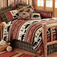 rustic bear bedding king