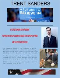 Campaign Brochure Campaign Brochure Sample Trent Sanders Spring 2016