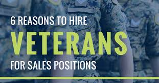 For Sales 6 Reasons To Hire Veterans For Sales Positions Betts
