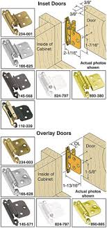 Woodworkercom AMEROCK VARIABLE OVERLAY SELF CLOSING CABINET HINGES