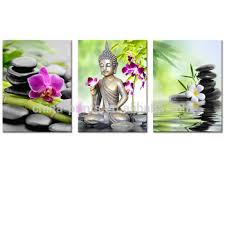 buddha canvas wall art zen stone orchid flower painting picture printed on canvas for home wall on orchids wall art with buddha canvas wall art zen stone orchid flower painting picture