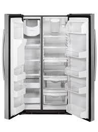Ge Appliance Customer Service 800 Gear Energy Starar 253 Cu Ft Side By Side Refrigerator