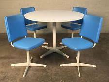 Mid century modern kitchen table Diy Brody Midcentury Modern Dining Kitchen Table With 4chairs Saarinen Style Ebay Mid Century Kitchen Table Ebay