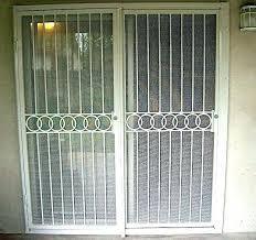 how to install a security screen door screen door for sliding glass security doors patio custom