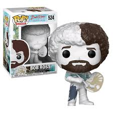 the joy of painting bob ross diy pop vinyl figure packshot 1