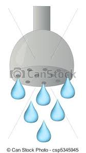 shower head clipart. Simple Clipart Shower Head With Water Droplets  Csp5345945 And Shower Head Clipart R