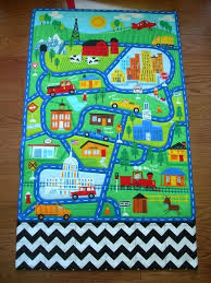 car play rug best mat images on rugs track and mats car play rug