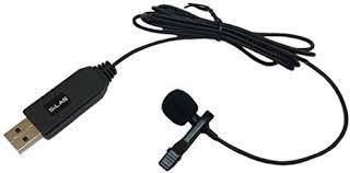 Leoie Wired <b>Clip-on Lapel Microphone</b> Home <b>Karaoke</b> USB Lavalier ...