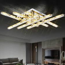 stylish lighting living. LED Ceiling Lights Simple And Stylish Modern Living Room Lamp Crystal  Rectangular Bedroom Creative Restaurant Lighting L