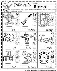 Printable phonics worksheets for kids. 1st Grade Math And Literacy Worksheets With A Freebie Planning Playtime First Grade Phonics Blends Worksheets 1st Grade Worksheets