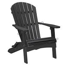 alabama oversized adirondack chair foldable hdpe plastic lumber black adirondack chairs h48