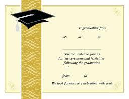 Free Graduation Invitation Templates Printable Announcements