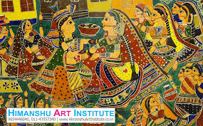 indian traditional art madhubani painting classes
