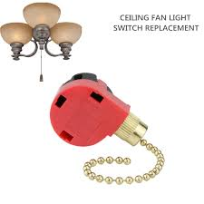 How To Replace The Light Chain On A Ceiling Fan Hunter 3 Speed Ceiling Fan Switch 4 Wire Pull Chain Switch