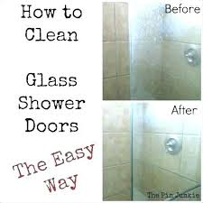 keep glass shower clean keep glass shower doors clean door cleaner cleaning with vinegar and dawn